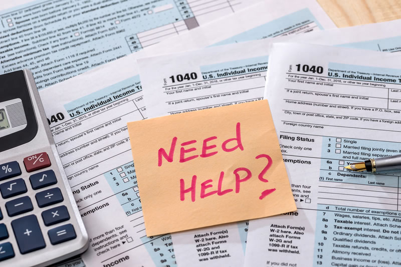 Help Filling Out Tax Forms