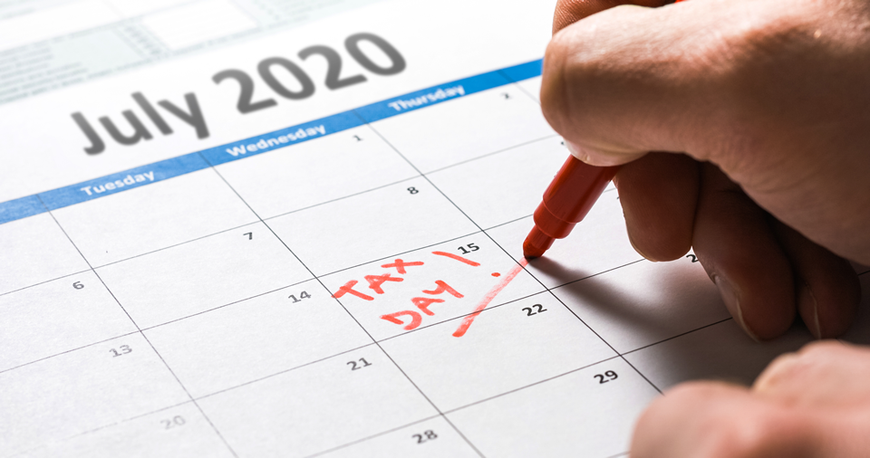 State and Federal Income Tax Filing Deadlines Extended